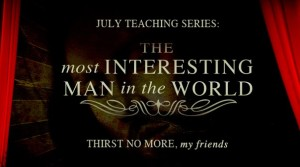 July Teaching Series